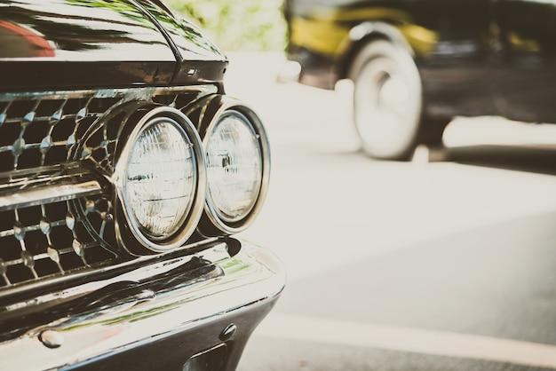 Scheinwerferlampenwagen