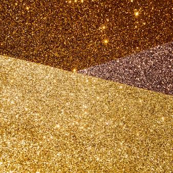 Schichten mit farbverlauf goldstruktur