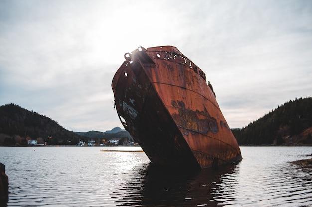Schiffbruch tagsüber