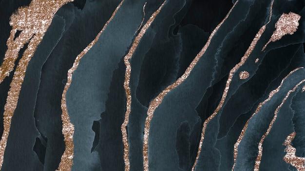 Schimmernder dunkelblauer aquarellhintergrund