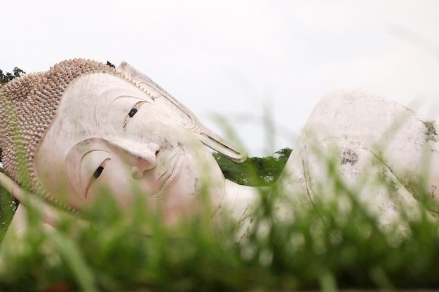 Schlaf-buddha-statue