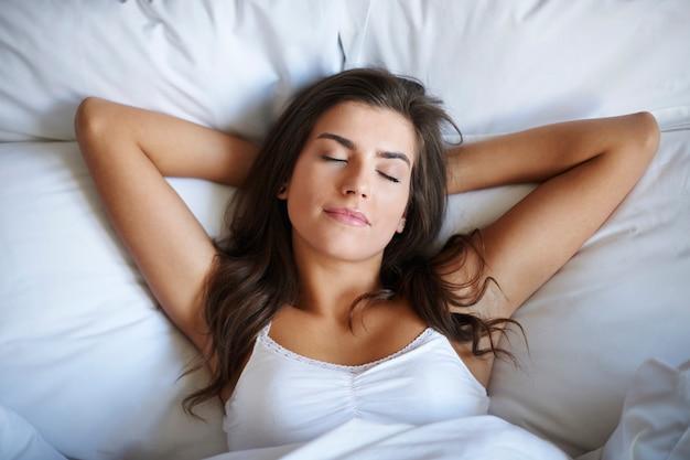 Schlafen ist der beste weg zur regeneration