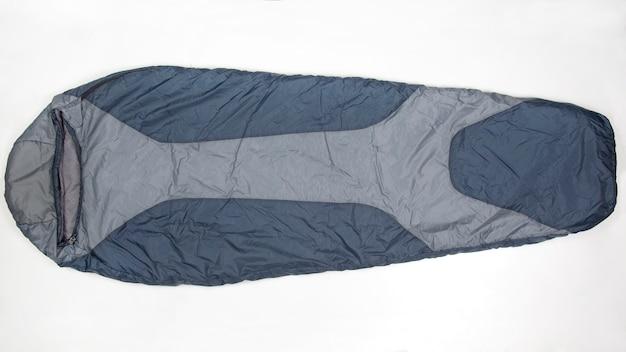 Schlafsack auf einem weißen