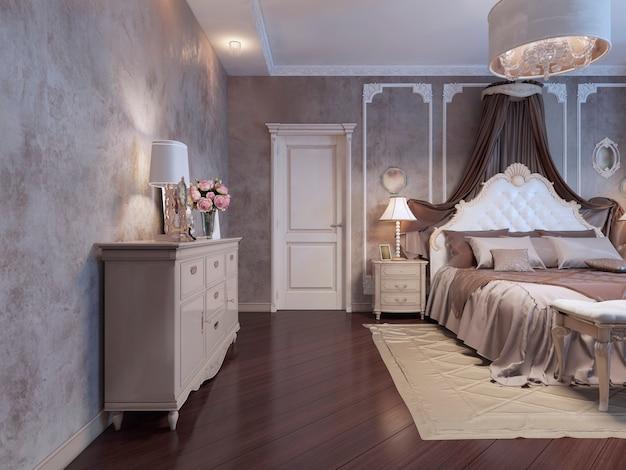 Schlafzimmer im reichen haus, böhmischer trend