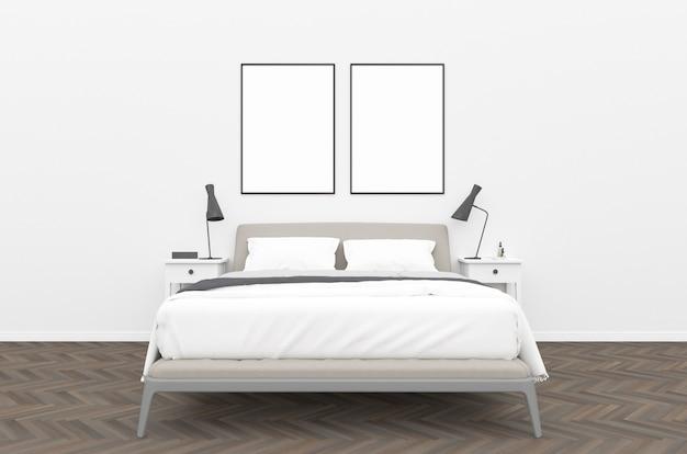 Schlafzimmer - wand galerie