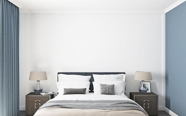 Schlafzimmermodell im amerikanischen stil