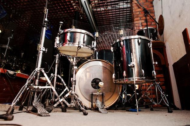 Schlagzeug und drumsticks