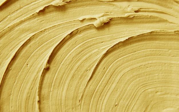 Schlammmaskenlehm mit mineralien des toten meers. textur. selektiver fokus