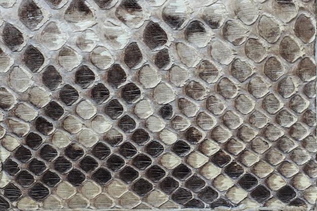 Schlangenleder als hintergrund oder textur.