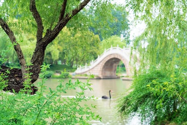 Schlanker westsee, yangzhou, china