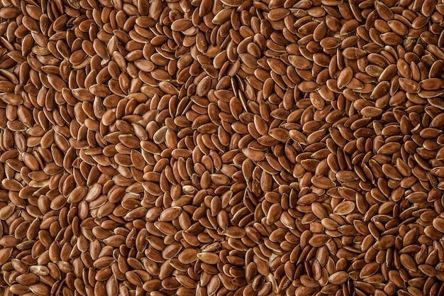 Schließen sie einen leinsamen, superfoods mit hoher omega-3 essencial fettsäure
