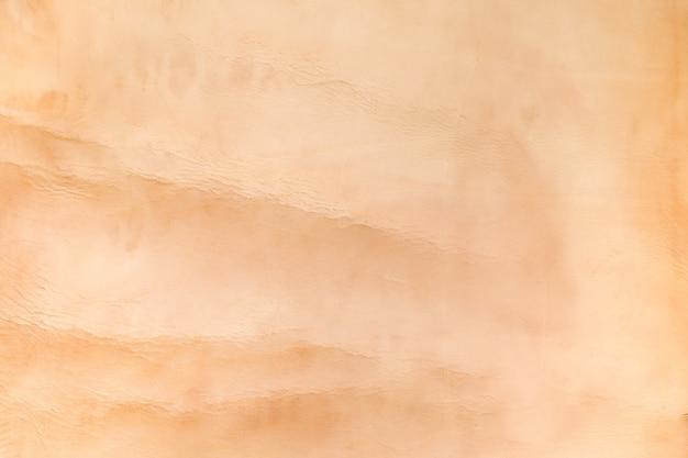 Schließen sie herauf nackte farbe zerknitterten ledernen beschaffenheitshintergrund