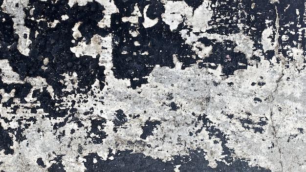 Schließen sie herauf schuss eines alten schwarzen wandoberflächenbeschaffenheitshintergrunds