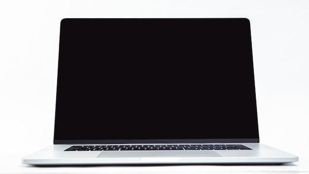 Schließen sie herauf stilvollen laptop