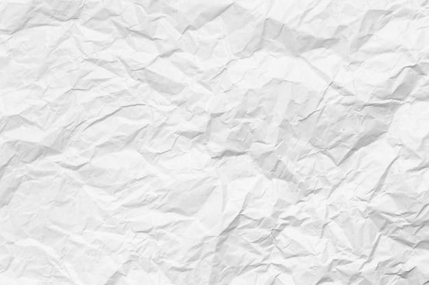 Schließen sie oben auf zerknittertem papierbeschaffenheitshintergrund
