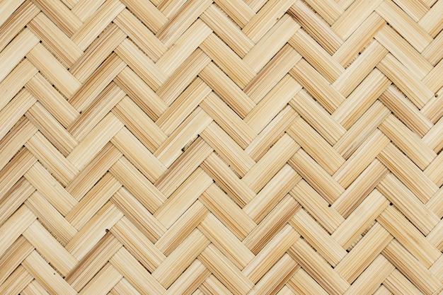 Schließen sie oben von gesponnenem bambus für hintergrund
