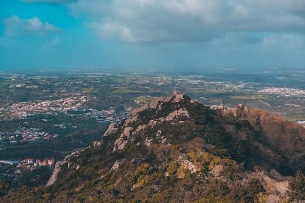 Schloss da pena in sintra lissabon auf portugal