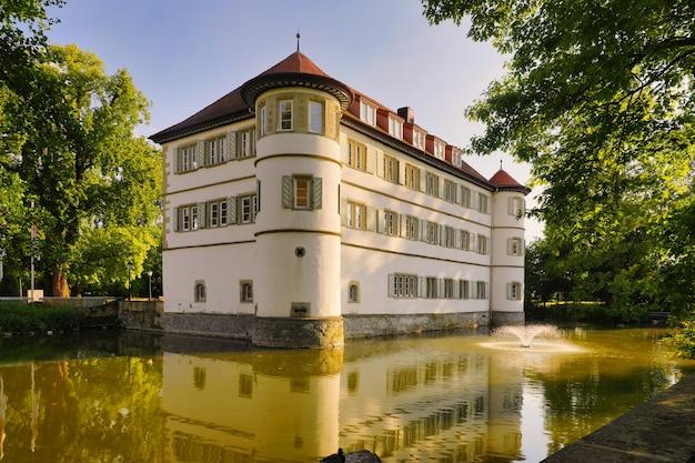 Schloss in bad rappenau, deutschland