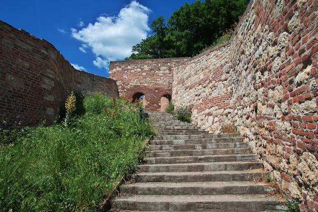 Schloss in belgrad-stadt, serbien