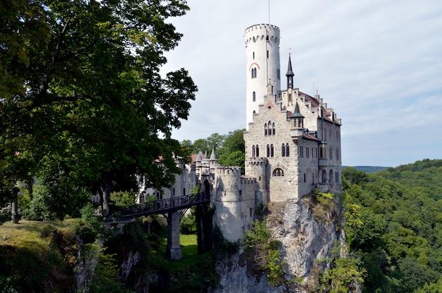 Schloss lichtenstein. deutschland