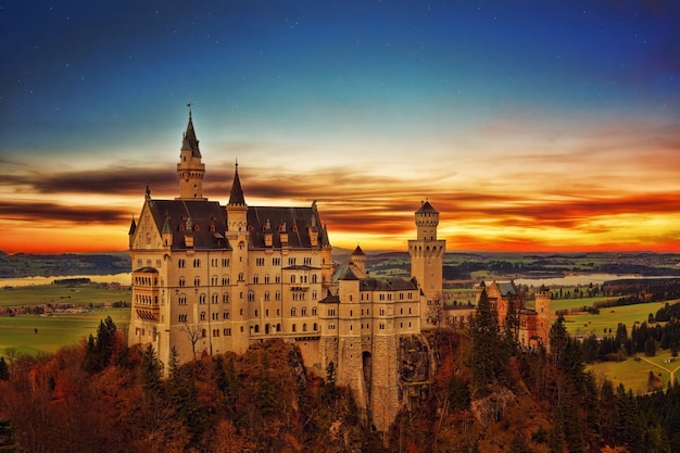 Schloss neuschwanstein, deutschland