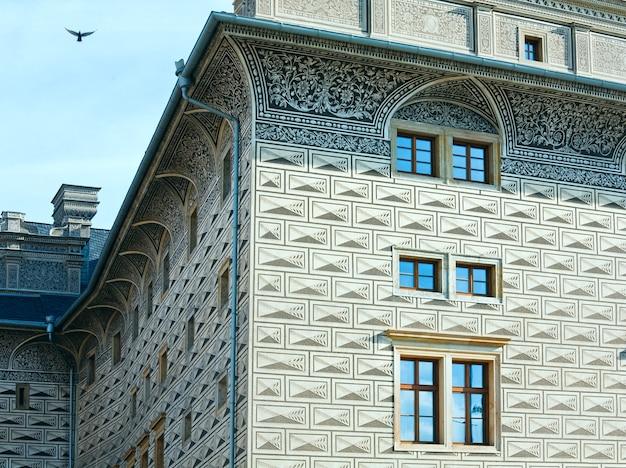 Schloss schwarzenberg, prag, tschechische republik