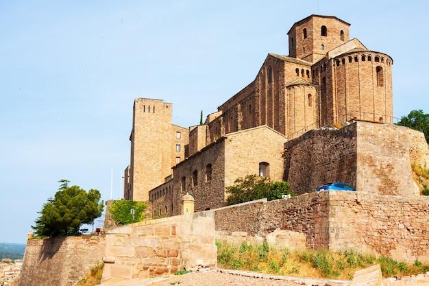 Schloss von cardona. katalonien