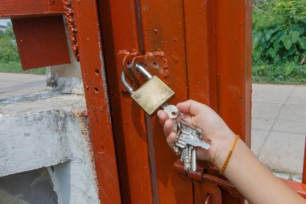Schlüssel entsperren