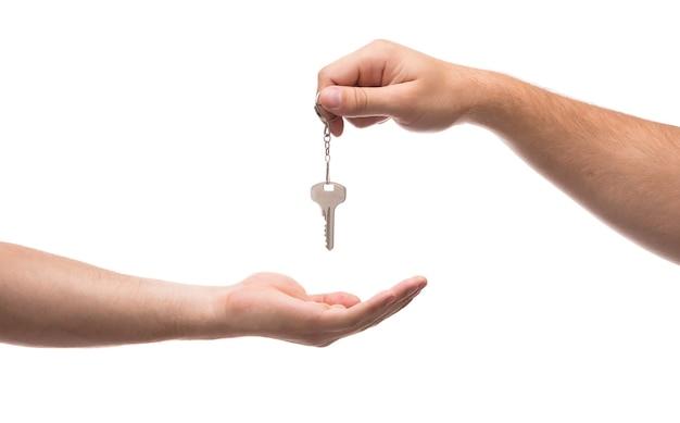 Schlüssel übergeben