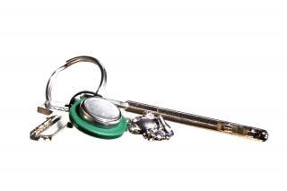 Schlüssel verzierten