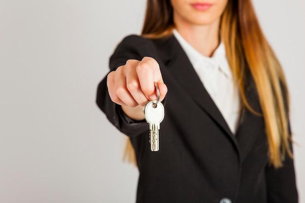 Schlüssel von deinem neuen haus
