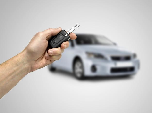 Schlüssel zum auto