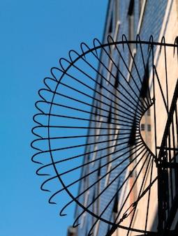 Schmiedeeisenentwurf in manhattan, new york city, usa