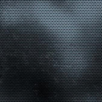 Schmutz-perforiertes metall textur-hintergrund