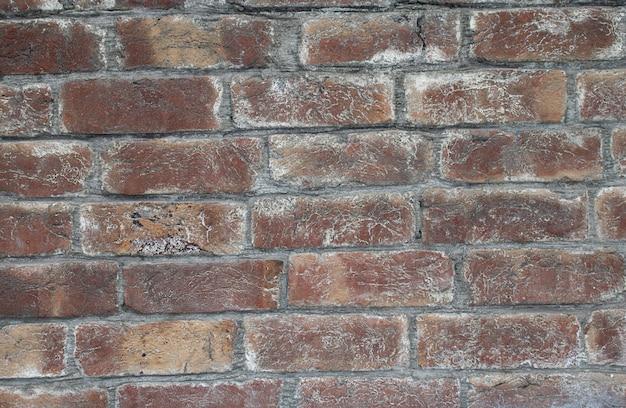 Schmutzbacksteinmauer, roter beschaffenheitsschmutzhintergrund