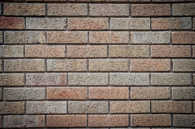 Schmutzige backsteinmauer, grungy weiß u. grau, beschaffenheitshintergrund