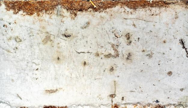 Schmutziger alter rostiger schmutzweißmetallhintergrund