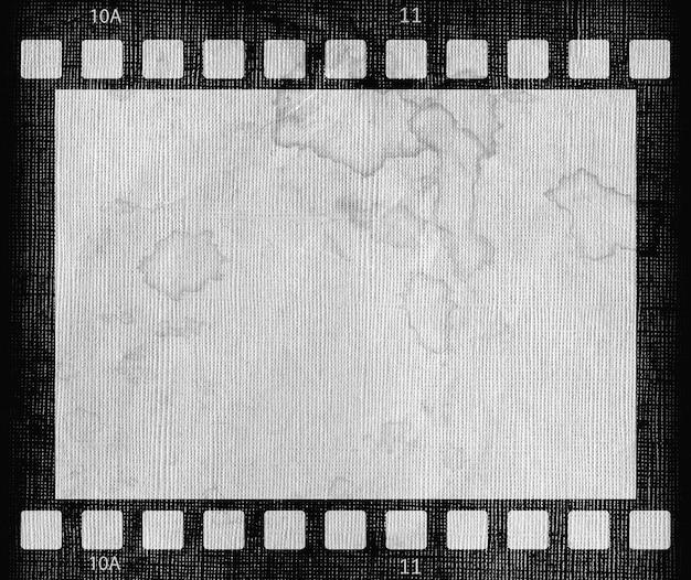 Schmutziger schmutzfilmstreifenrahmenhintergrund frame