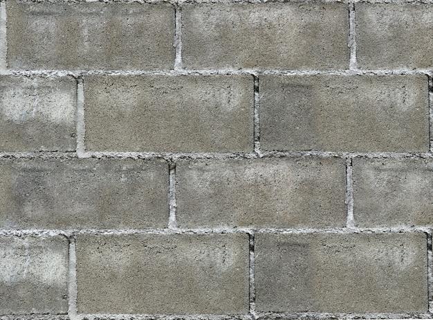 Schmutziger verwitterter alter zement blockiert wandbeschaffenheitshintergrund.