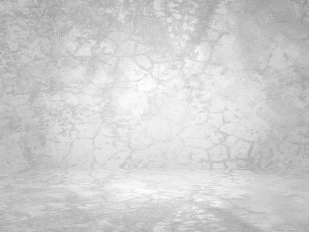 Schmutziger weißer hintergrund der natürlichen beschaffenheit des natürlichen zements oder des steins als retro-musterwand. konzeptionell