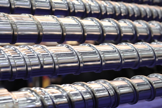 Schneckenpressenteile für kunststoffspritzmaschine