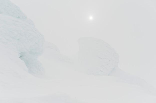 Schnee bedeckte berg, pfeifer-berg, pfeifer, britisch-columbia, kanada