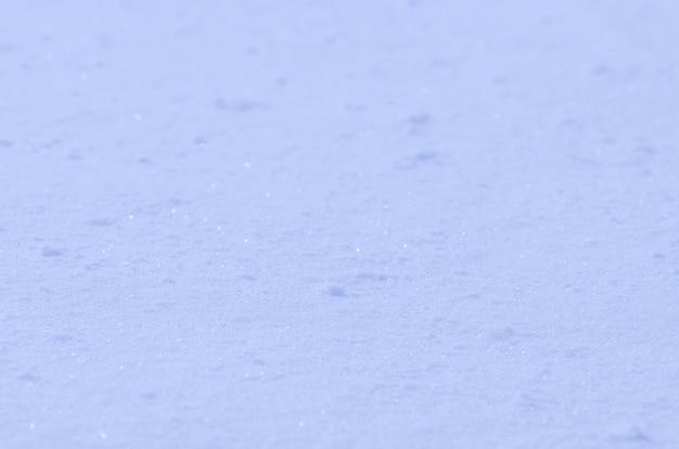 Schneebeschaffenheit im blauen ton