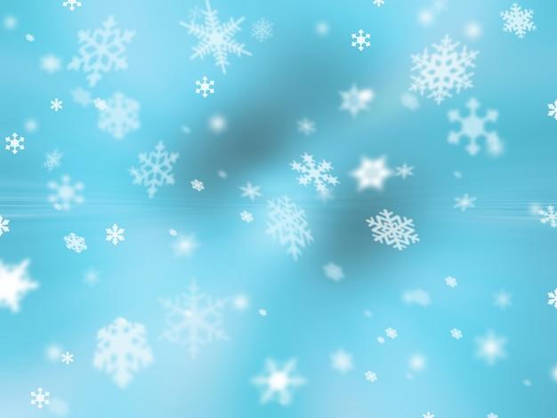 Schneeflocken hintergrund