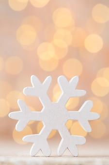 Schneeflockenspielzeug, weihnachtsdekor