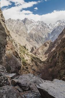 Schneereichen winter berge