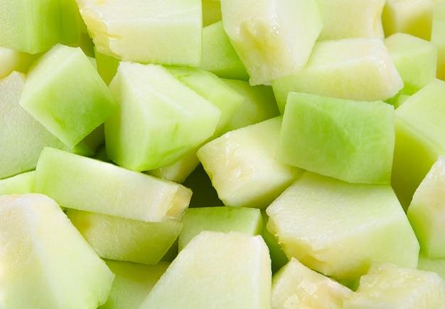 Schneiden sie melone backgrond textur