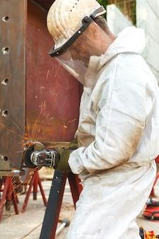 Schneiden von stahl schwerindustrie durch elektroflex