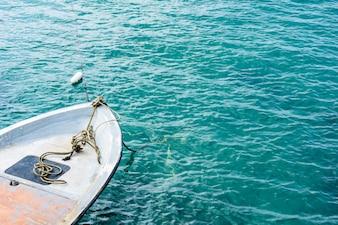 Schnellboot auf See, Golf von Thailand