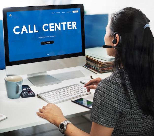 Schnittstellenwort der kundenbetreuungswebsite
